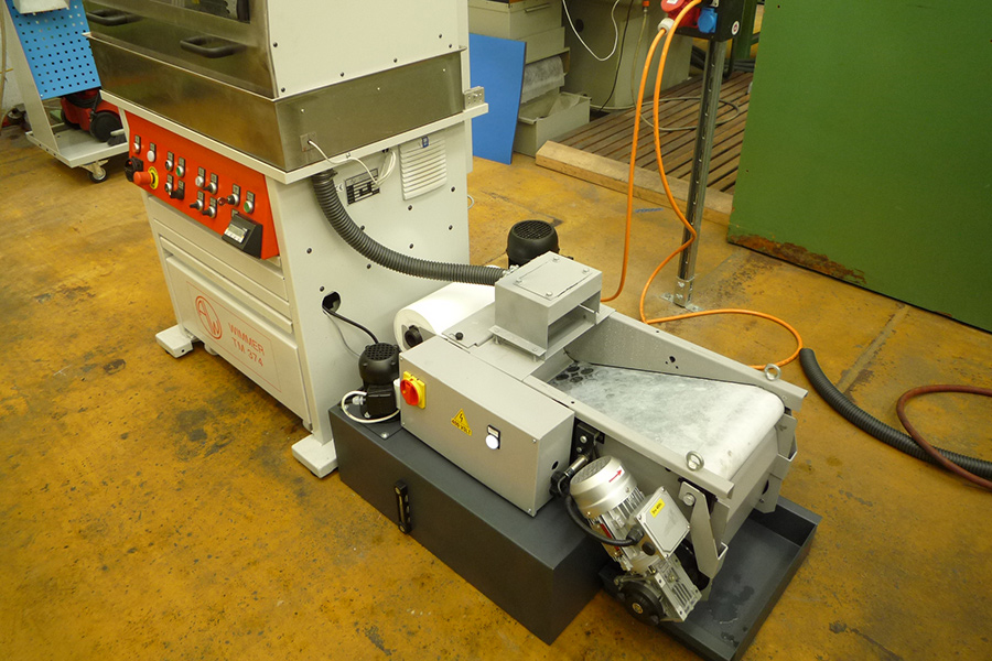 Tm 374 Automatic Cut Off Machine With Servo Drive Anton